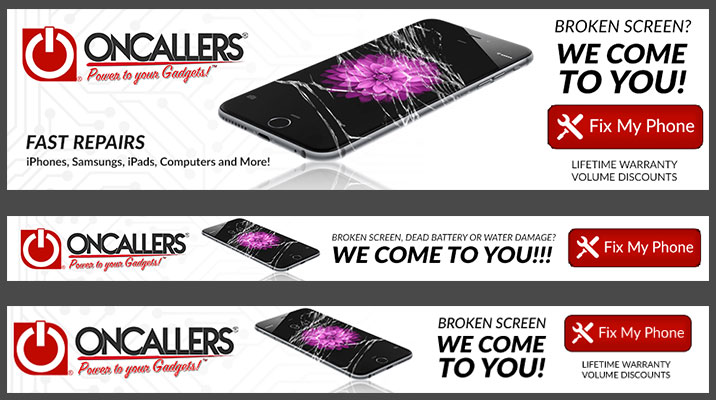 ONCALLERS - Horizontal Display Ads