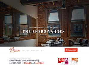 The Energy Annex | Bayjr Web Design