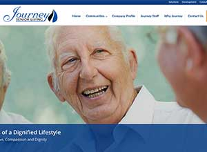 Journey Senior Living | Bayjr Web Design
