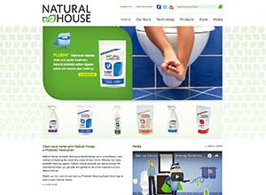 Natural House | Bayjr Web Design